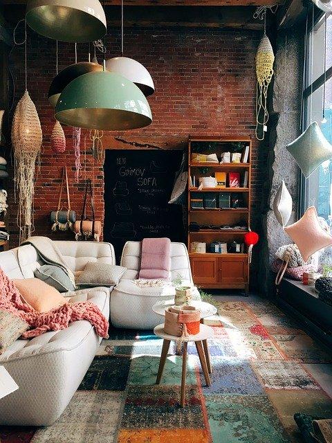 Italian furniture in the living room
