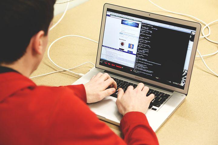 Programmer while doing website hosting and design