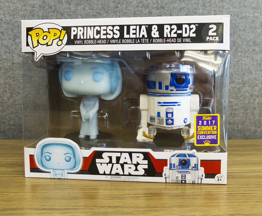 Funko Pop release of the Star Wars Princess Leia