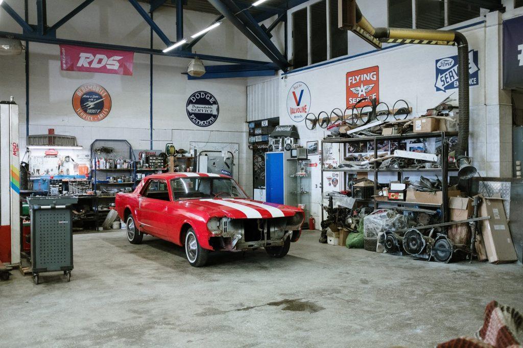 automotive workshop
