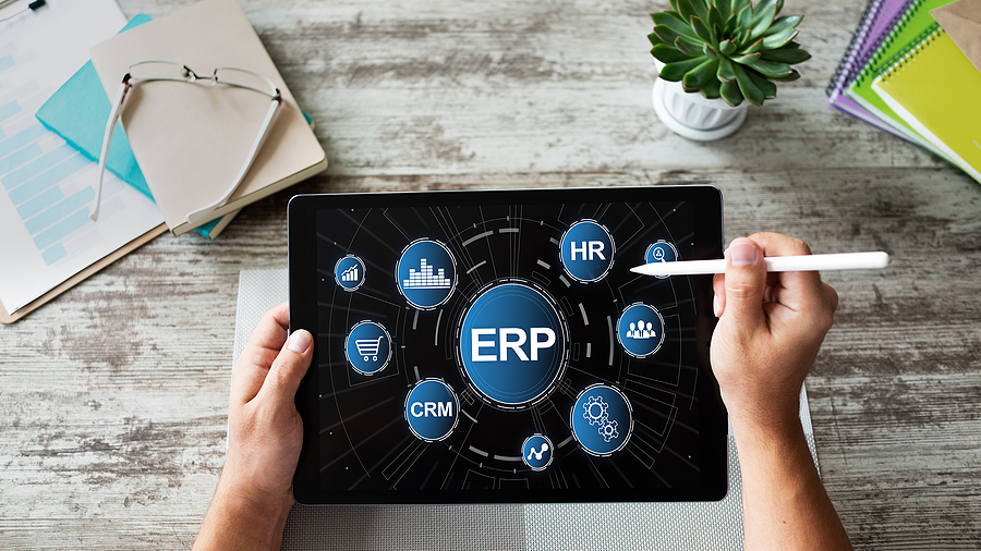 ERP System In A Tablet